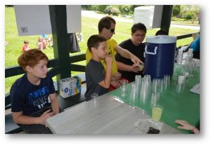 Children With Autism at Elwyn's T-camp